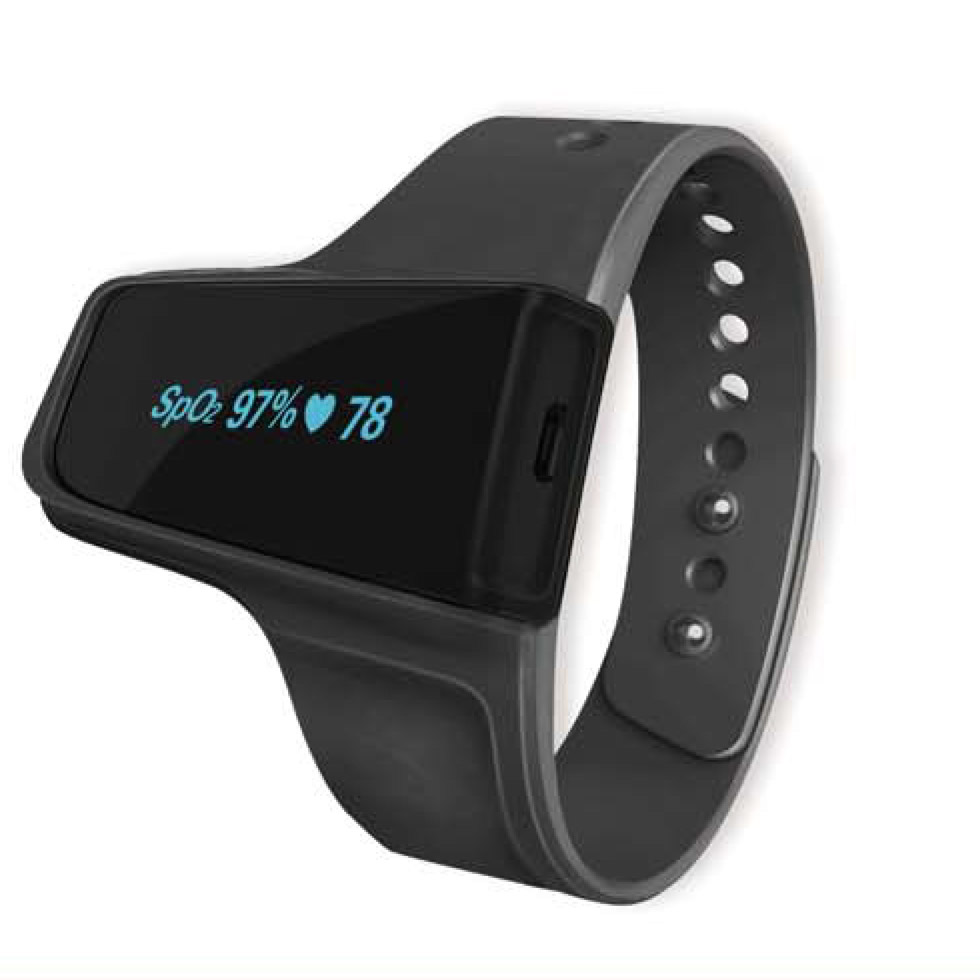 O2 VibeTM Sleep & Fitness Monitor