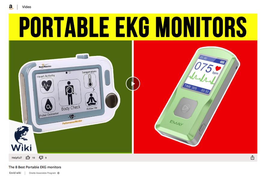 portable ekg monitors